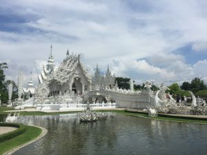 White temple in Chiang Rai - Thaïlande