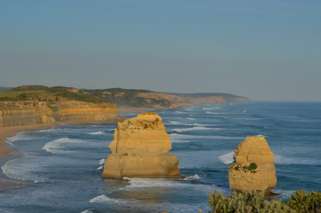 Une autre vue des 12 apôtres. Nous y étions pour le coucher de soleil.